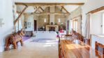 Moonlight Barn Dining Area into Lounge - StayCotswold