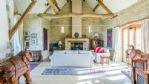 Moonlight Barn Lounge and Wood Burner - StayCotswold