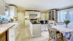 Newleaze Farm Kitchen and Dining Area - StayCotswold