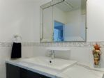Shower room -large hand wash basin and plenty of storage
