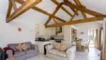 Blossom Barn Living Area - StayCotswold