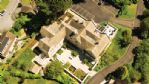 The Lodge Aerial View - StayCotswold