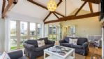 Chimney Farm Living Dining Area - StayCotswold