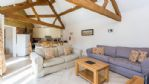 Flower Barn Living Area - StayCotswold