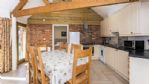 Flower Barn Kitchen and Dining Area - StayCotswold