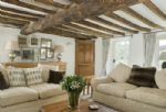 Ground floor: Sitting room with overhead beams