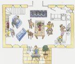 Ben's Barn - Floorplan