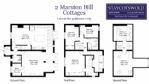 2 Marston Hill Cottages Floorplan - StayCotswold