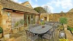 The Nook Outdoor Dining Area - StayCotswold