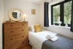 First floor:  Small, single bedroom