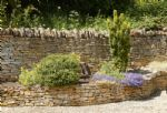 Cotswold stone stocked borders