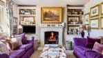 Cherry Tree House Lounge and Fireplace - StayCotswold