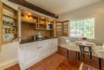 Ground floor:  Compact, close-able kitchen unit