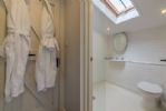 Ground floor: Tiled wet room with shower