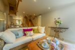 Ground floor: The comfortable open plan sitting room