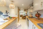 Ground floor: The modern, well equipped kitchen