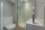 First floor: Master en-suite with a digitally controlled shower