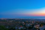 Views to Paphos at Dusk