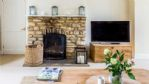 Orchard Cottage Fireplace - StayCotswold