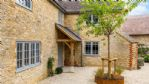 Apple Tree House Entrance Porch - StayCotswold
