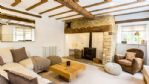 Apple Tree House Lounge Area and Log Burner - StayCotswold