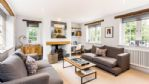 Apple Tree House Lounge with Log Burner - StayCotswold