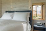 The Listening Station: King-size bedroom with sea views and en-suite bathroom