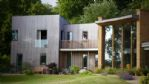 The Curved House External View - StayCotswold