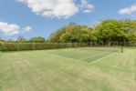 Tennis court available for use on request