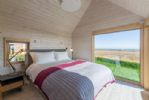 Ground floor: Stunning views from the comfort of your own bedroom