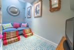 Ground floor: Snug ... perfect for little ones to chill and watch TV