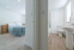 Ground floor: Double bedroom and bathroom