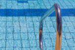 Handrail Clear Blue Pool