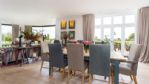 Old Meadow House Dining Area - StayCotswold