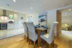 Ground floor: Open-plan dining kitchen and sitting room