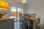 Ground floor: Dining kitchen with french doors leading onto the rear garden