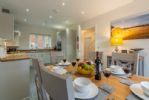 Ground floor: Hare Cottage boasts a spacious dual aspect dining kitchen