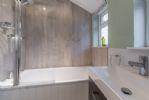 Ground floor: Shower over bath