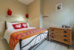First floor: Double bed in second bedroom