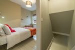 First floor: Second bedroom with double bed
