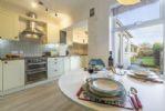 Ground floor: Open plan dining kitchen/sitting room