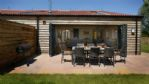 Meadow Barn Outdoor Dining Area - StayCotswold