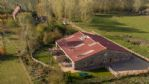 Orchard Barn Aerial View - StayCotswold