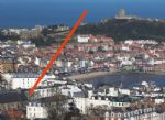 Location of Elizabethan Court - as viewed from Oliver's Mount.