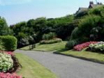 The glorious South Cliff gardens - a couple of minutes stroll away.