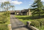 The grand driveway up to Willersey Farm House