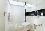 Ground floor: The wet room style shower adjacent to the ground floor double bedroom