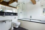 Ground floor: The en-suite bathroom to the master bedroom