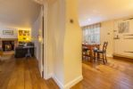 Ground Floor: Hall through to sitting room and dining room