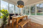 Ground floor: Dining room/conservatory